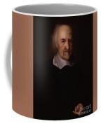 Portrait Of Thomas Hobbes Coffee Mug