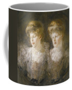 Portrait Of Two Ladies Coffee Mug