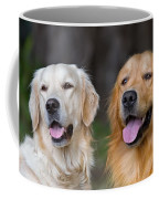 Portrait Of Two Young Beauty Dogs Coffee Mug