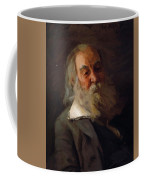 Portrait Of Walt Whitman 1887 Coffee Mug