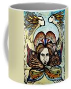 Portrait With Nature # 4 Coffee Mug