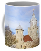 Portsmouth Cathedral In Springtime Coffee Mug