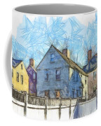 Portsmouth New Hampshire Pencil Coffee Mug