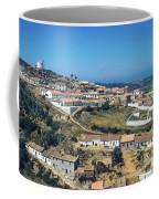 Portugese Hillside Village Coffee Mug