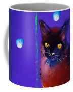 Posh Tom Cat Coffee Mug