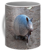 Posing Armadillo Coffee Mug