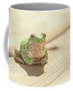 Posing Tree Frog Coffee Mug