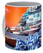 Positano Beach Pop Art Coffee Mug
