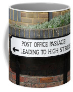 Post Office Passage In Hastings Coffee Mug