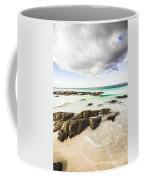 Postcard Perfect Ocean Background Coffee Mug