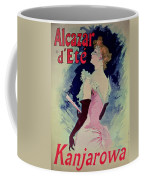 Poster Advertising Alcazar Dete Starring Kanjarowa  Coffee Mug