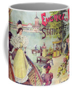 Poster Advertising Spa Resort  Coffee Mug