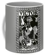 Poster Advertising Victor Bicycles Coffee Mug