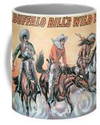 Poster For Buffalo Bill's Wild West Show Coffee Mug