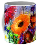 Pot Of Flowers Coffee Mug