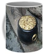 Pot Of Gold At The Rainbow Coffee Mug