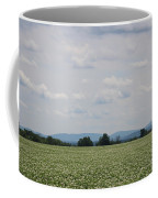 Potato Blossoms In Corinna Maine Coffee Mug