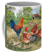 Poultry Peckin Pals Coffee Mug