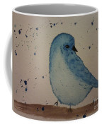 Powder Blue Coffee Mug by Ginny Youngblood