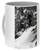 Powder Hound Bw Version Coffee Mug