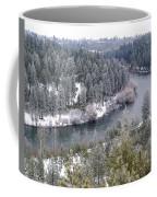 Powdered Spokane River Coffee Mug
