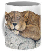 Power And Grace At Rest Coffee Mug by Pat Erickson