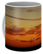 Sunset On The Poles Coffee Mug