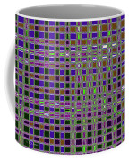 Power Tower And Agave Checkerboard Abstract Coffee Mug