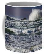 Powerful Waves Crash Ashore Coffee Mug