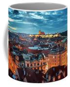 Prague At Night Coffee Mug