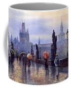Prague Charles Bridge Coffee Mug by Yuriy Shevchuk
