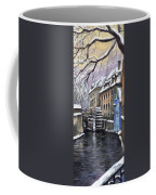 Prague Chertovka Winter Coffee Mug