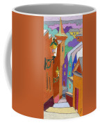 Prague Old Steps Winter Coffee Mug
