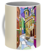 Prague Old Street Karlova Winter Coffee Mug