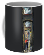 Prague Old Street Love Story Coffee Mug