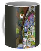 Prague Old Street Mostecka Coffee Mug