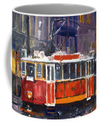 Prague Old Tram 09 Coffee Mug