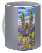 Prague Panorama Coffee Mug