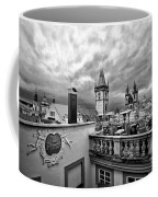 Prague View From The Top Coffee Mug