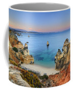 Praia Do Camilo At Sunset  Coffee Mug