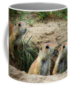 Prairie Dog Family Coffee Mug