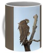 Prairie Falcon Stretching Coffee Mug