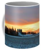 Prairie Winter Sunrise Coffee Mug