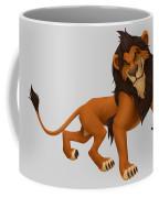 Prancing Lion Coffee Mug