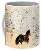 Prancing Through The Snow Coffee Mug