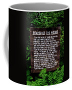 Prayer Of The Woods Coffee Mug