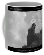 Praying Monk - Arizona - Poster Print Coffee Mug