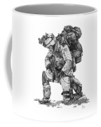 Praying Soldier Coffee Mug