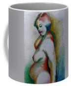 Pregnant Nude Coffee Mug