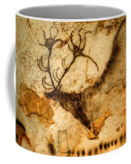 Prehistoric Artists Painted A Red Deer Coffee Mug by Sisse Brimberg